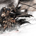 viking batman by calebnefzen