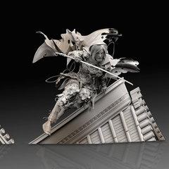 ninja female warrior- sculpt - 2 by calebnefzen