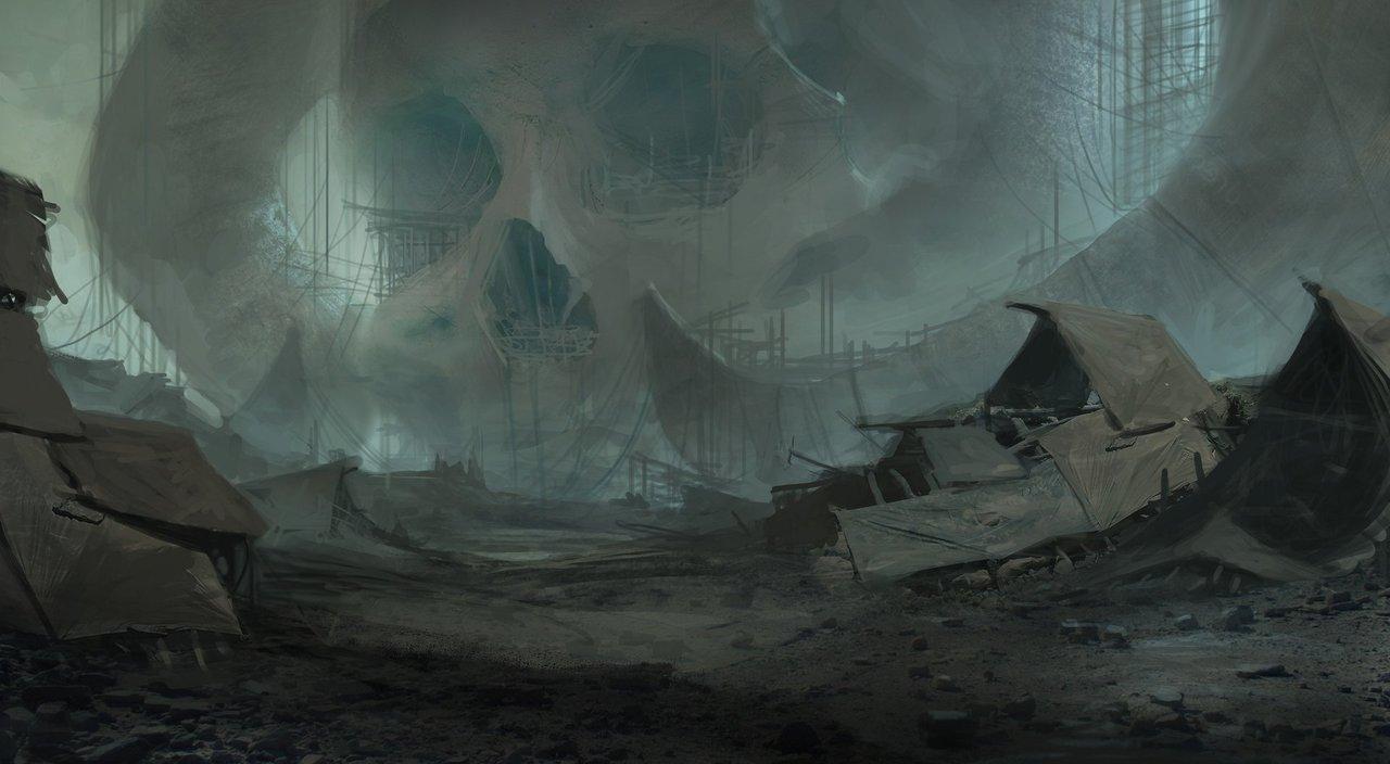 the skull village by victor_hugo_harmatiuk