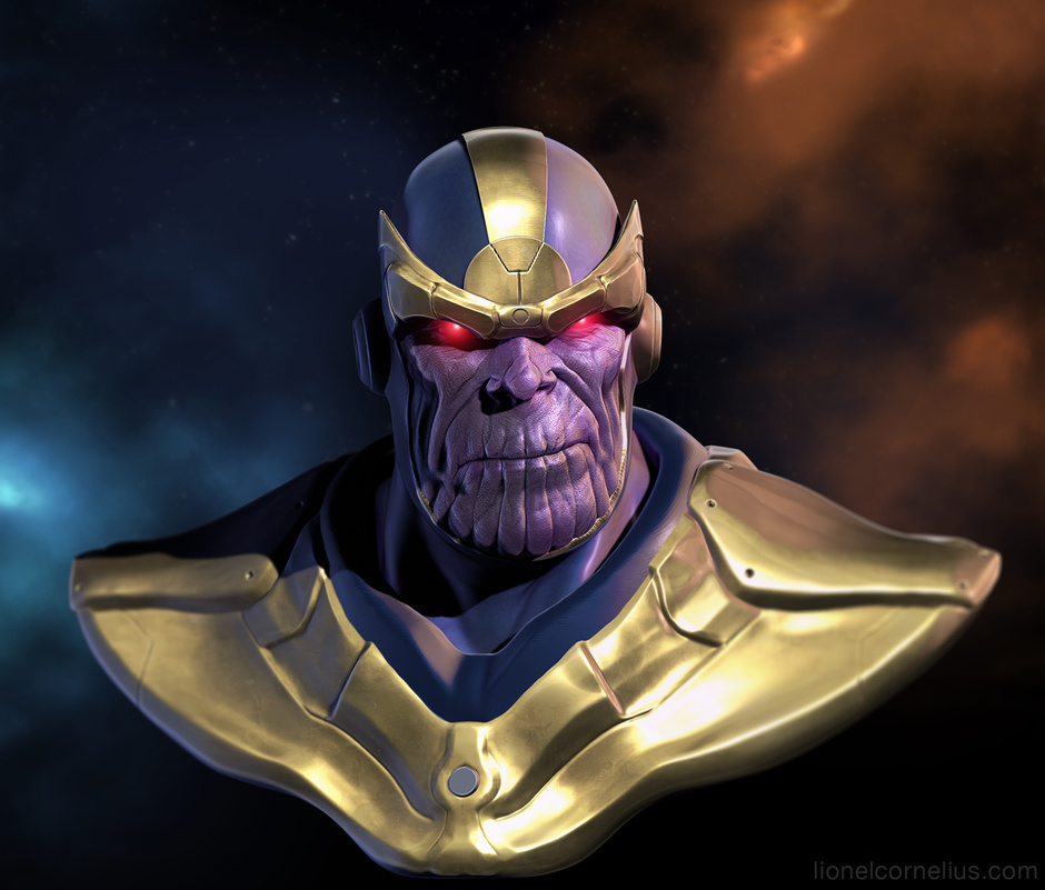 thanos by ljsketch