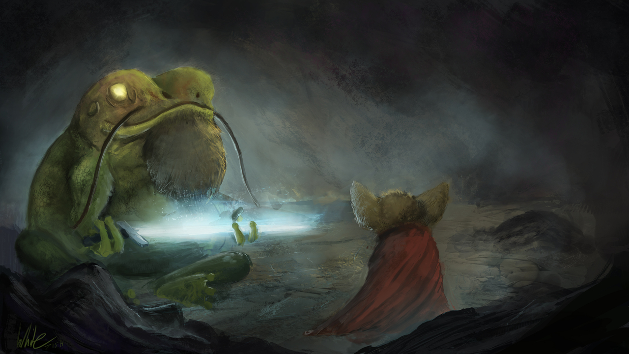 the frog the sword and the mouse by samwhite