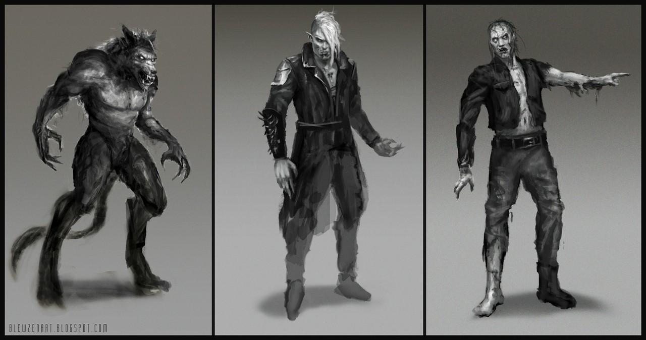 sketches by blewzen