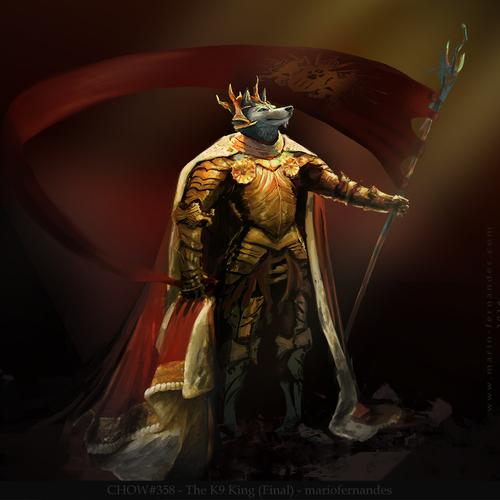 K9 Sun King by mariofernandes