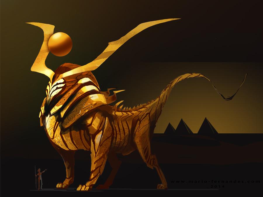 sun guardian by mariofernandes