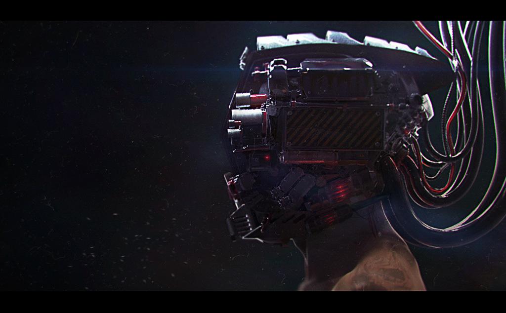 cyborg helmet v02 by piqnic