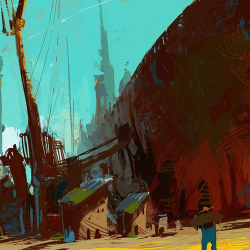 Boat Aground by benamar