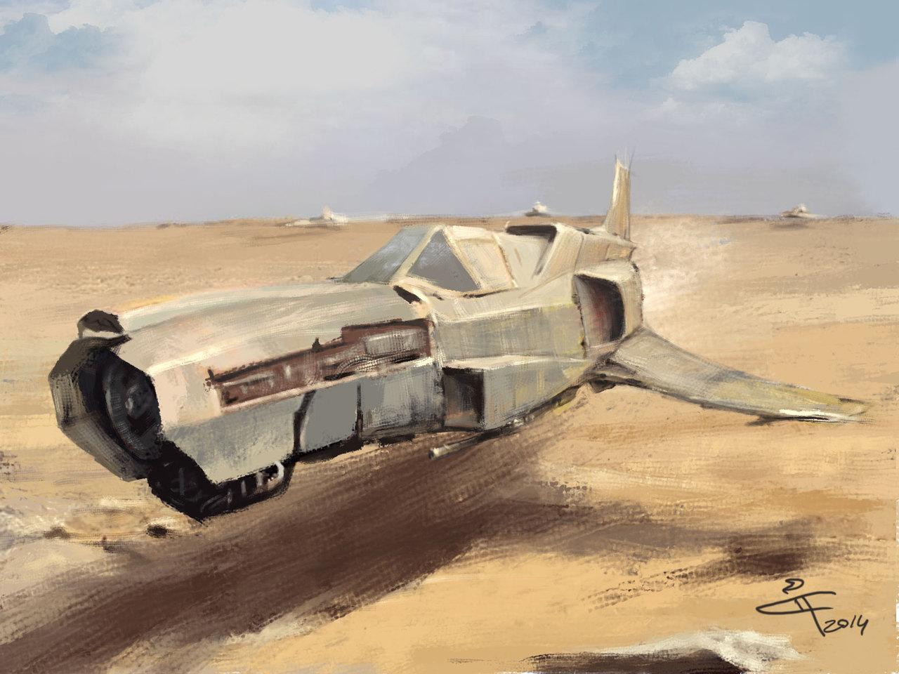 desert run by kotyak