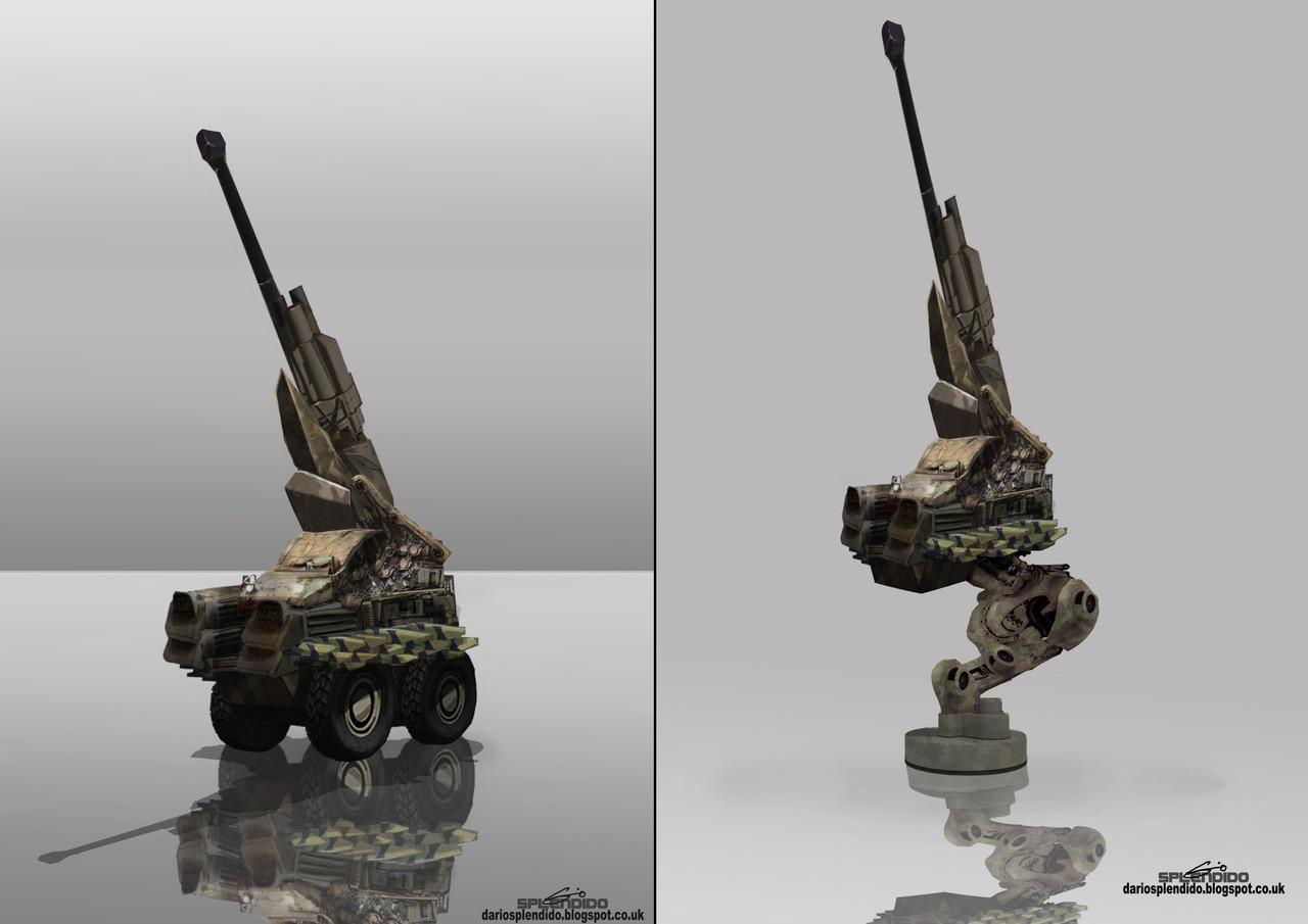 artillery study by dariosplendido