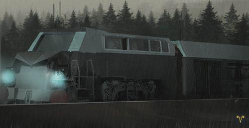 Display jumbo train