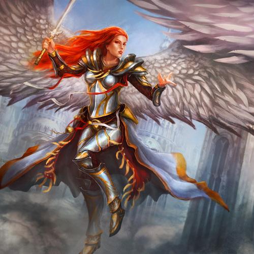 Angel by artofinca