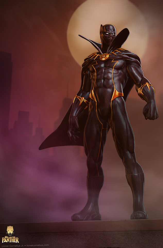black panther by ljsketch
