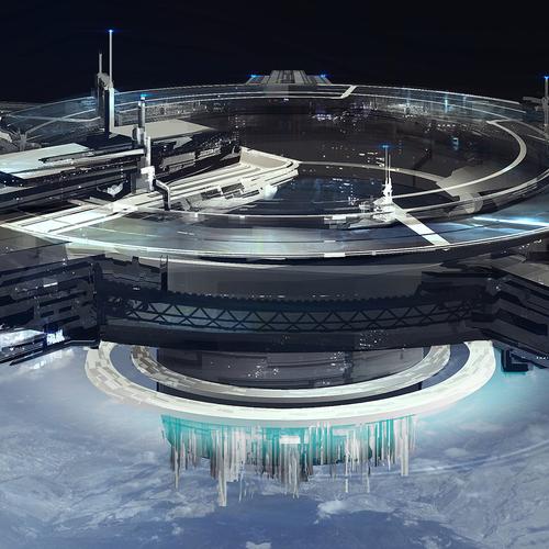 Orbital Gate by dmitryvishnevsky