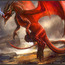 red dragon by artofinca