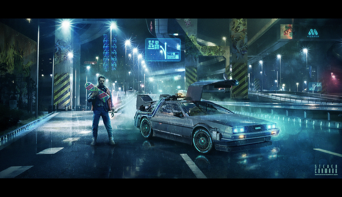 back to the future by stevencormann