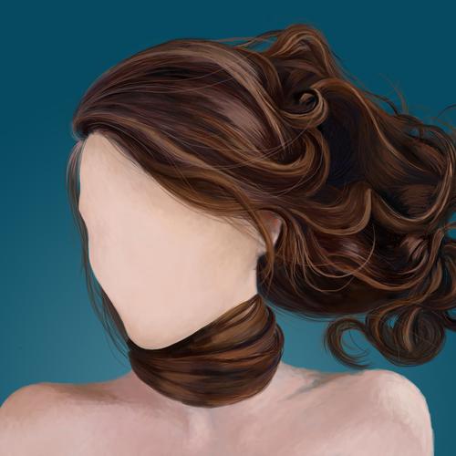 Hair Study 2 by elizabethtristram