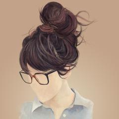 hair study 4 by elizabethtristram