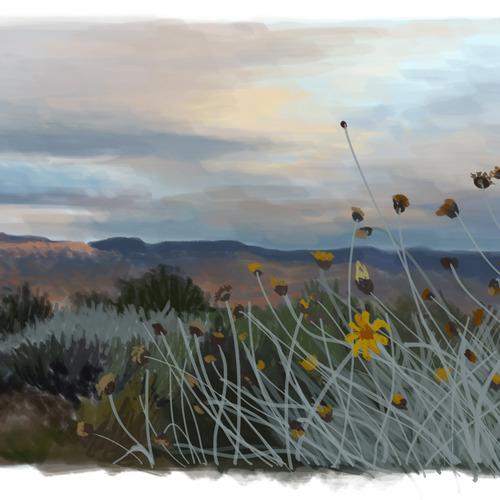 Landscape Study 2 by elizabethtristram