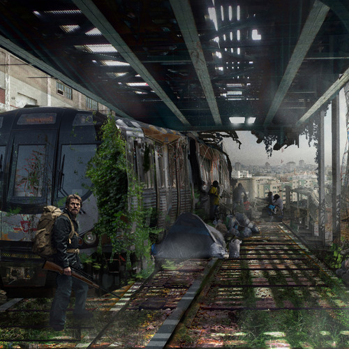 Post Apocalyptic Environment by conceptbound