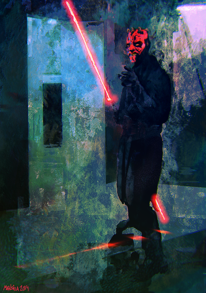 darth maul by chemamansilla