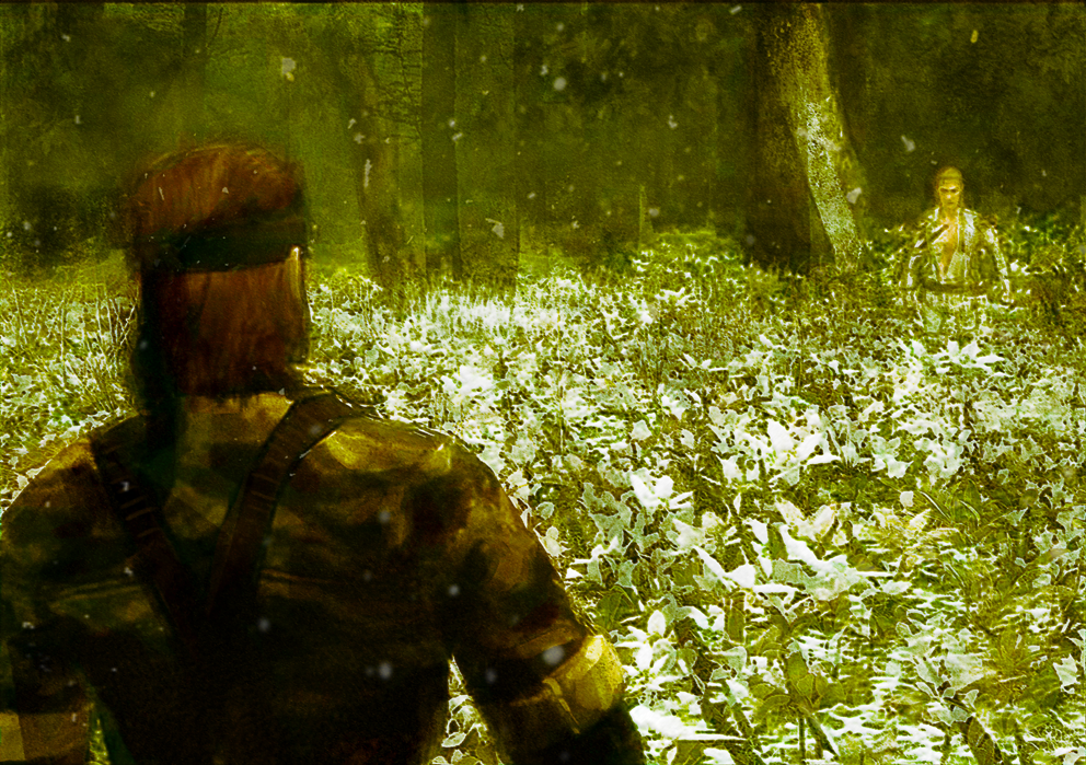 metal gear snake eater by chemamansilla