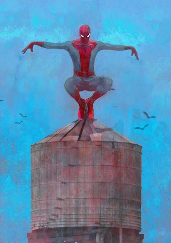 Display jumbo spider man 2