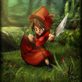 littlered killing time by antoniominu