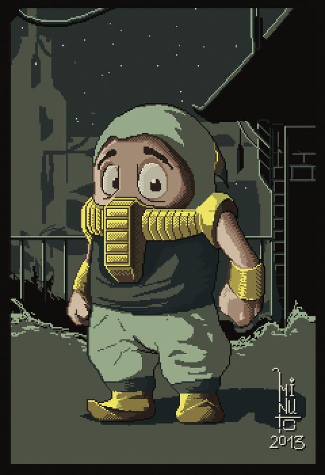 ninja by antoniominu