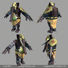 a game res model i did for my thesis class by longphan