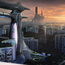 futuristic jurong town by fernanders