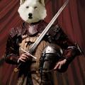 white wolf-a medieval portrait by hurcemk