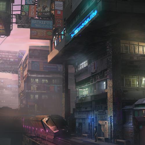 Tokyo Shinjuku 2093 by sideon