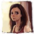 portrait by hurcemk