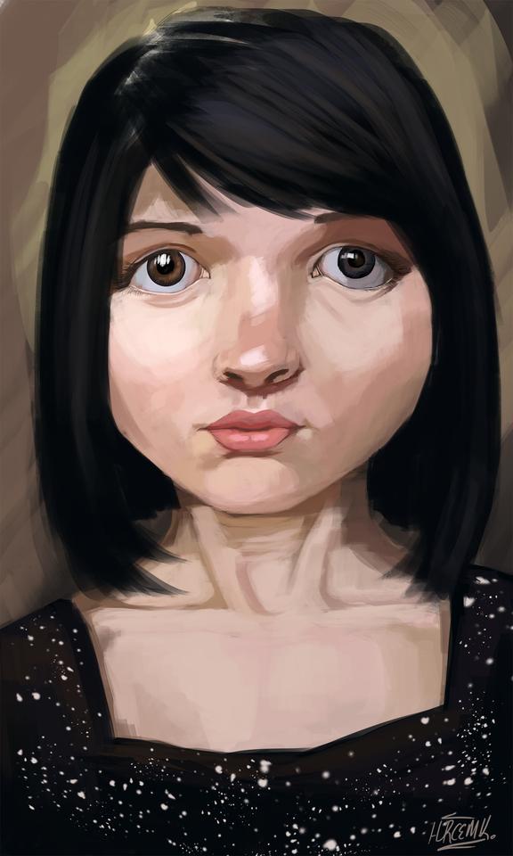 neandartal portrait by hurcemk