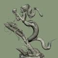mermaid by acornboy