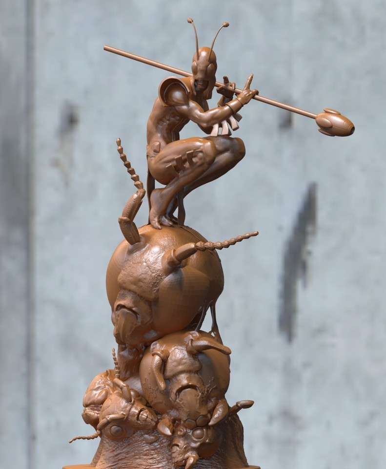 bug from micronauts by acornboy