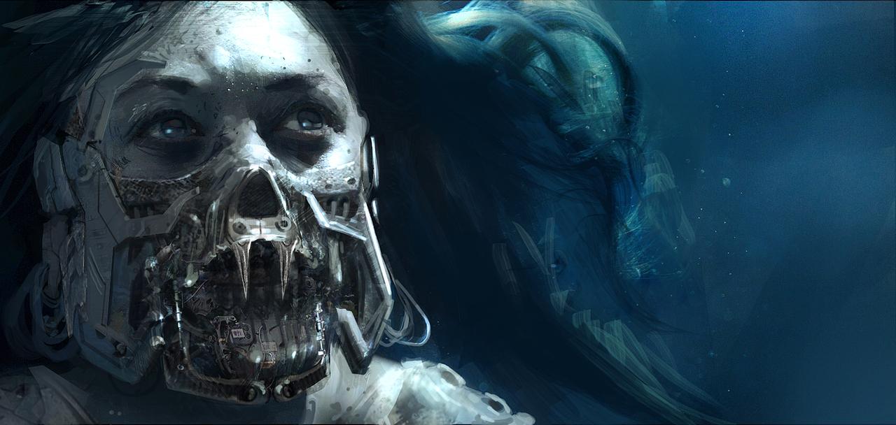 iron vampire by klauswittmann