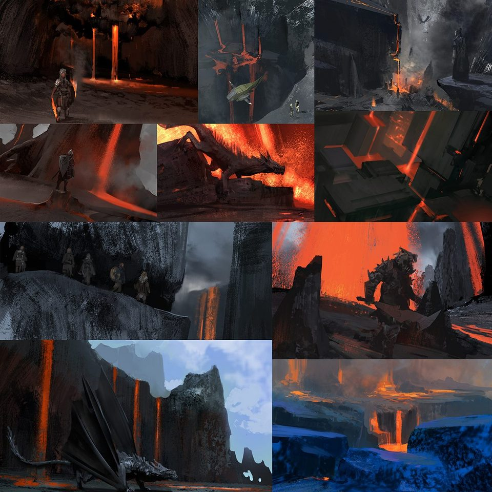 lava spitpaints by arnaud