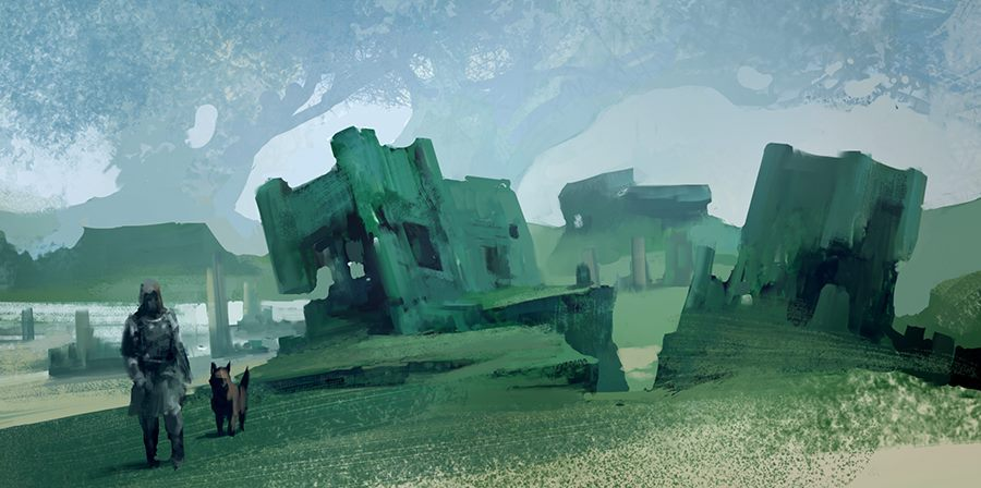 green landscape by arnaud