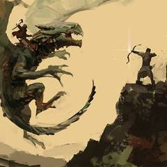 dragon rider by arnaud