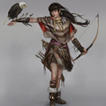 huntress by timkong