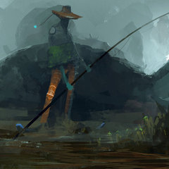 fisherman by erenarik