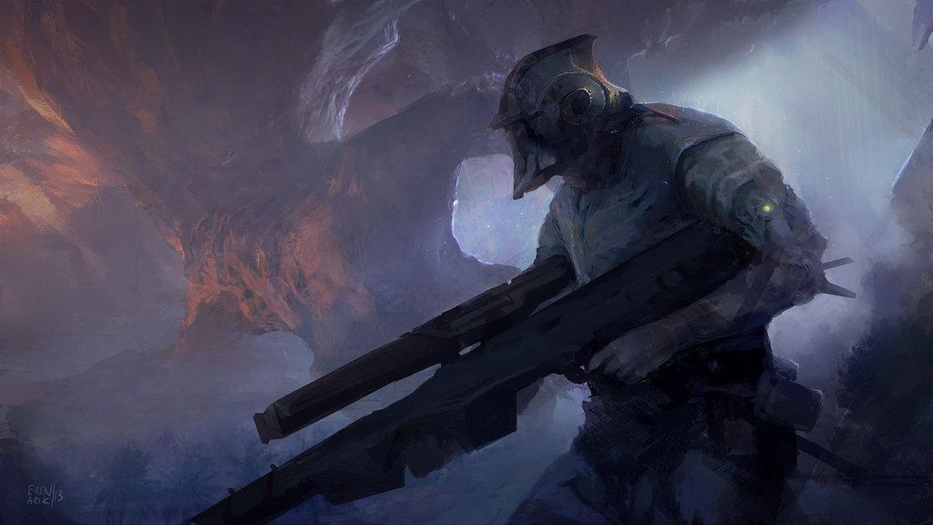 sniper by erenarik