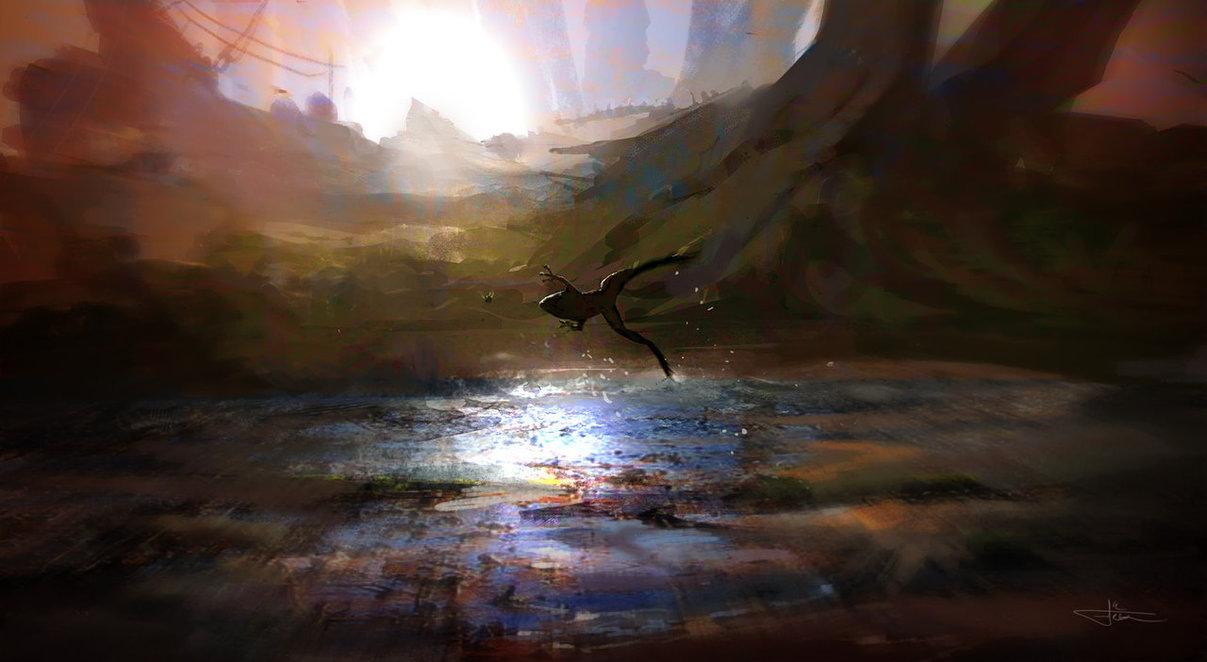 swampstalker by erenarik