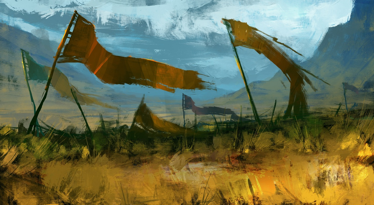 battle flags by victor_hugo_harmatiuk