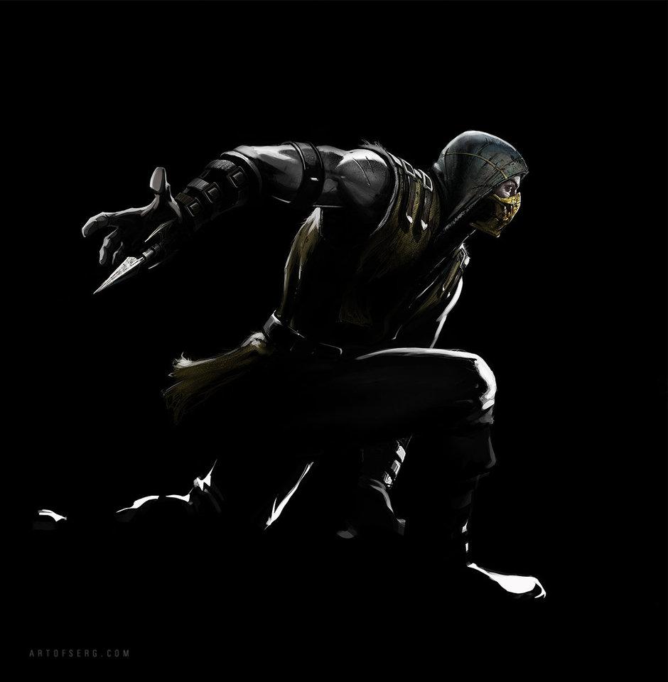 mortal kombat x - scorpion 2 by serg.soul