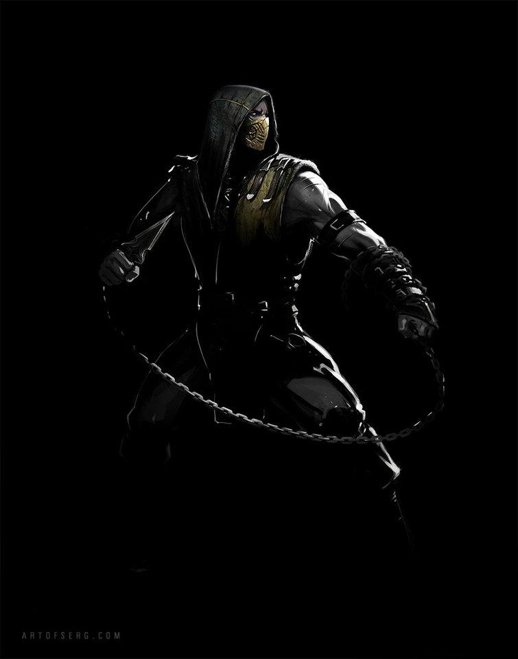 mortal kombat x - scorpion 3 by serg.soul