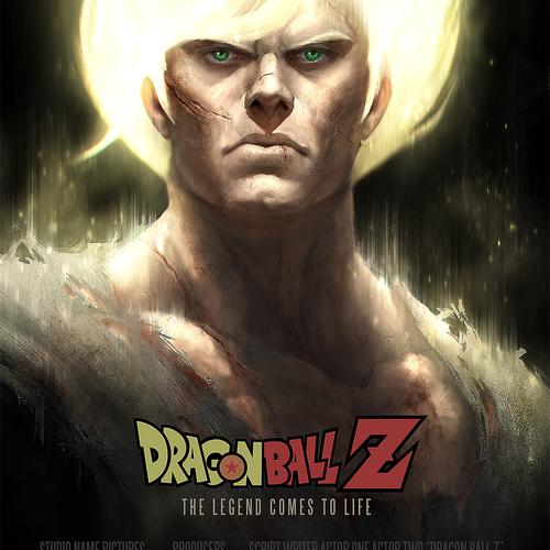 Dragon Ball Z Songoku Fanart by wwysocki