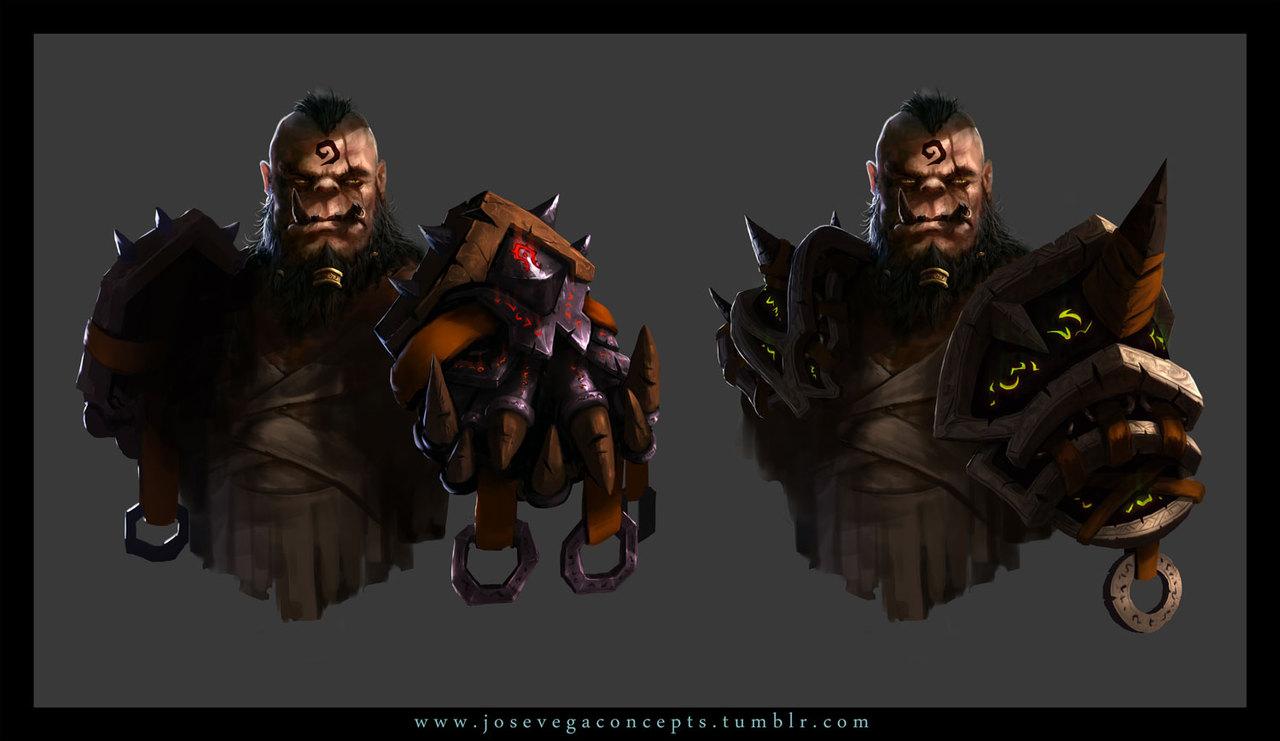 orc concept by josevega