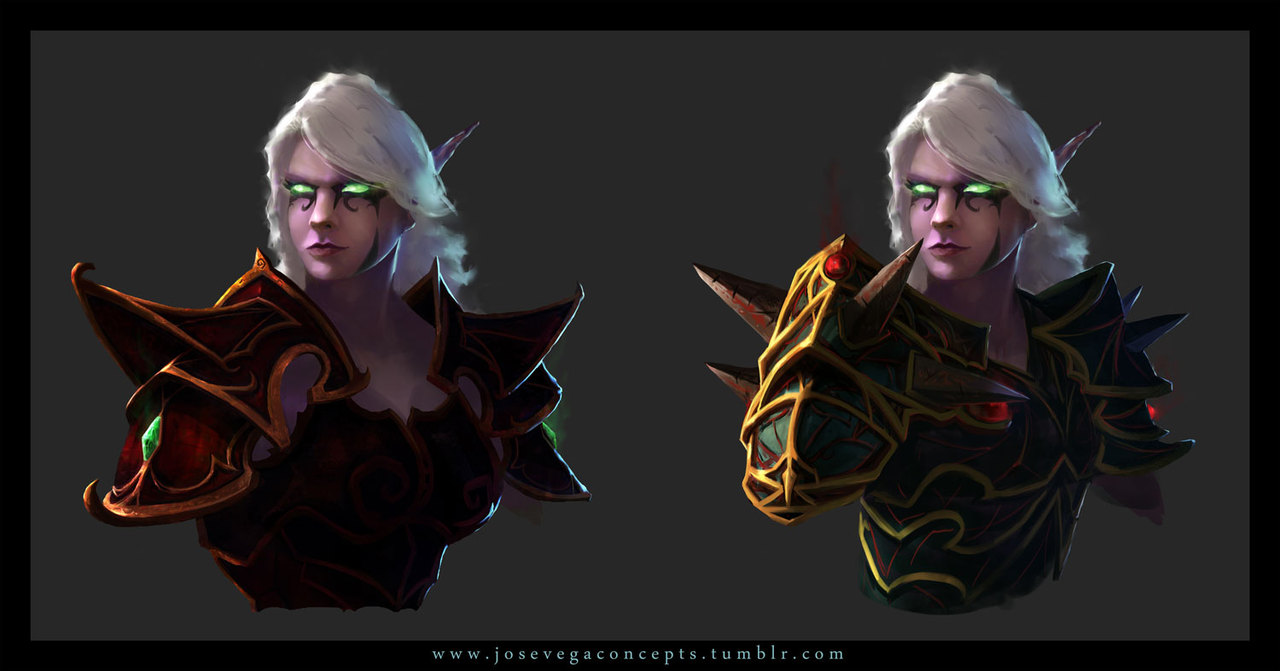 elf concept by josevega