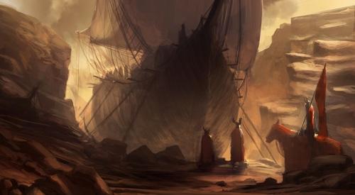 Display jumbo shiparrival